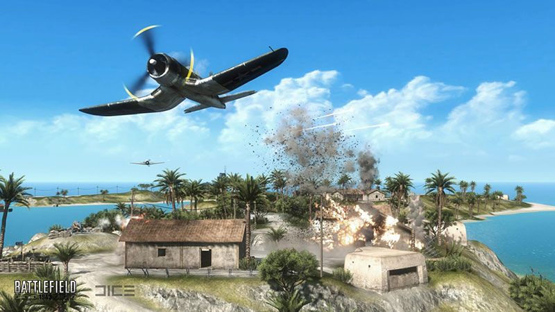A screenshot of Battlefield 1943