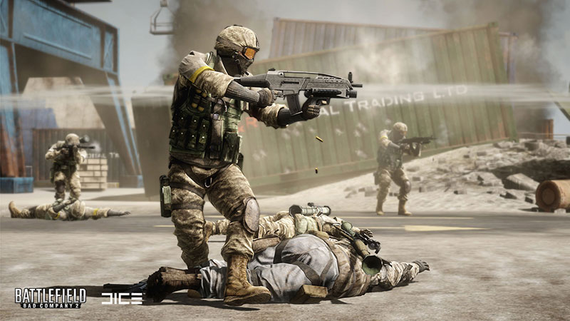 A screenshot of Battlefield Bad Company 2