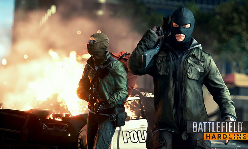 A screenshot of Battlefield Hardline