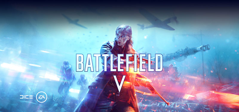 A screenshot of Battlefield V