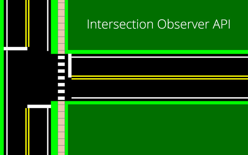 Intersection Observer - Play on Words Illustration