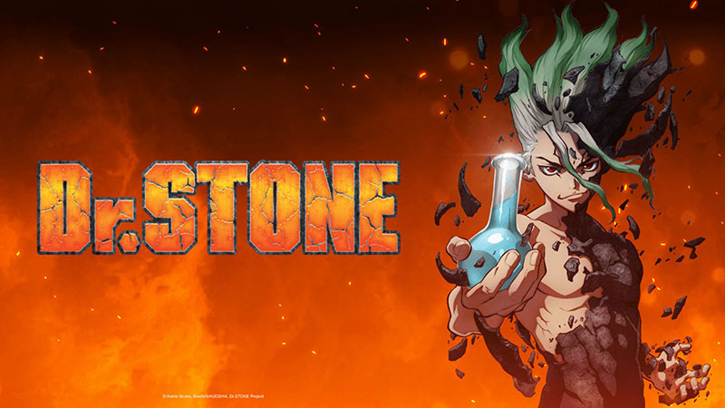 Dr. Stone Promotional Poster