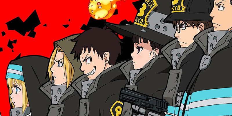 Fire Force - Main Characters