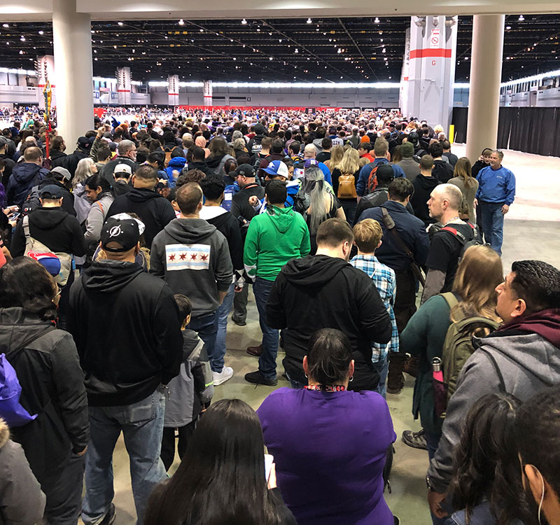 C2E2 Saturday Morning Crowd
